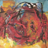 'Strandgut 1 '  2007 - Tempera  - B|H: 70|50 cm