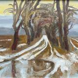 'Vergessener Landweg'  2010 - Öl auf Harfaser - B|H: 70|50 cm