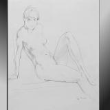 'Kess' 2009 - Bleistift - B¦H: 45 57 cm
