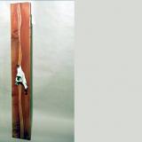 'Lang Tang (Nepal)' 2010 - Holz gesägt, Knochen - B|H|T: 20|80 cm