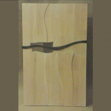 'Richtungswechsel' 2013 - Holz gesägt/gebeizt - B|H: 40|60 cm