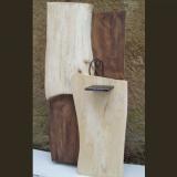 'Wandrelief' 2011 - Holz gesägt/geschliffen - B|H: 100|60 cm