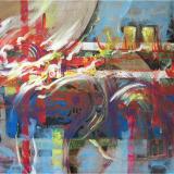 'Composicion 2' 2009 - Acryl - B|H:  80x60 cm