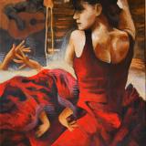 'Danza flamenca' 2017 - Acryl - B|H: 50x70cm
