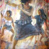 'Danza frenetica' 2010 - Acryl - B|H: 80x100cm
