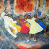 'Danza Swing' 2010 - Acryl - B|H: 100x80cm