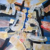 'Danza2-Mädchen im Mantel' 2010 - Acryl - B|H: 80x100cm