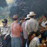 'Serenata en la Estanzuela' 2020 - Acryl - B|H: 80x60