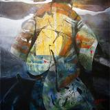 'Der Morgenröte entgegen' 2012 - Acryl - B|H: 80x100cm