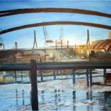 'Hamburg 1' 2011 - Acryl - B|H: 100x80cm