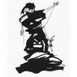 'Seilschaft' 2009 - Tuschezeichnung - B|H: 24|32 cm