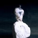 'Titan auf dem Gipfel' 2007 - Rakukeramik - H: 30 cm