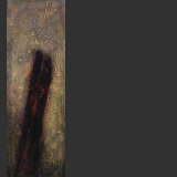 'Abschied' 2009 - Acryl - B|H: 30|90 cm