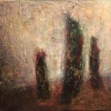'Stille' 2009 - Acryl - B|H: 30|30 cm