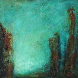 'Waldidyll' 2009 - Acryl - B|H: 40|30 cm