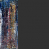 'Verwobenes I' 2010 - Öl - B|H: 20|50 cm