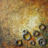 'Spuren der Vergangenheit III' 2012 - Assemblage - B H: 20 20 cm