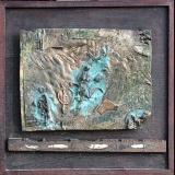 'Csongrad Fischer' 1999 - Bronzerelief - B|H: ca. 66|67 cm