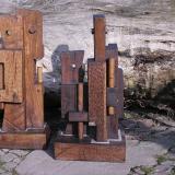 'Csongrad Fischer' 2002 - Eiche - H: ca. 80 cm