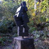 'O. T.' 2007 - Eisenguss - H: ca. 110 cm
