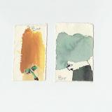 'o. T. (1)' 2009 - Tuschezeichnung - B|H: ca. 4|8 cm