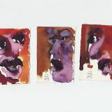 'o. T. (10)' 2009 - Tuschezeichnung - B|H: ca. 4|8 cm