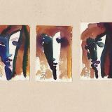 'o. T. (5)' 2009 - Tuschezeichnung - B|H: ca. 4|8 cm