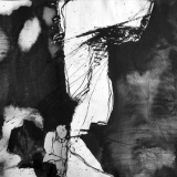 'In Erwartung' 1988 - Tusche - B|H: 70|50 cm