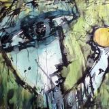 'Neue Welt' 2009 - Aquarell - B|H: 70|50 cm